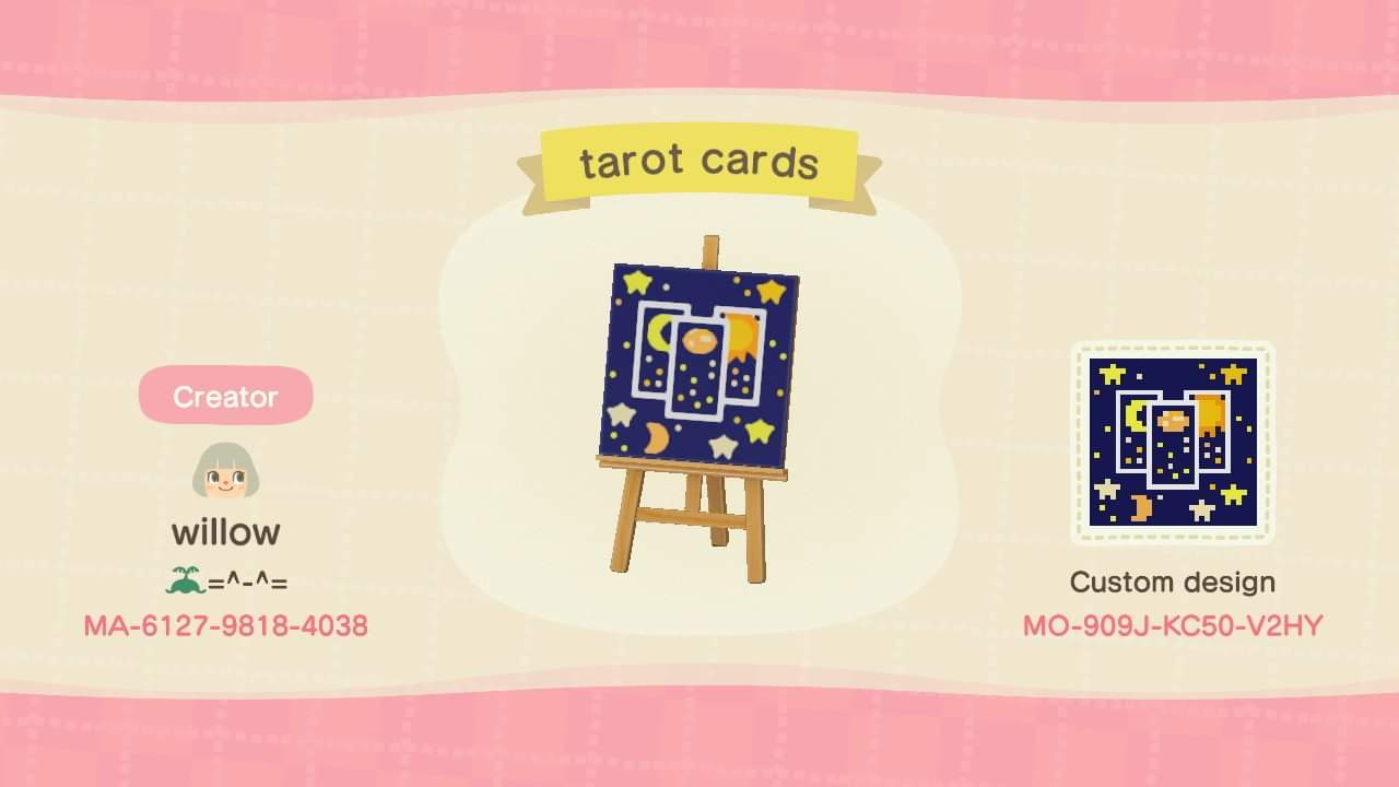 Tarot Cards Custom Crossing